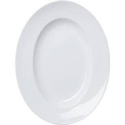 Teller oval groß