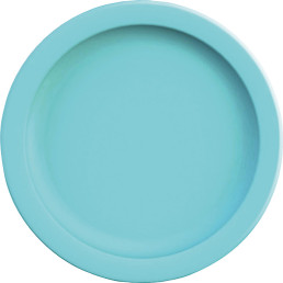 "Teller flach ""PBT"" ø 24,1 cm hellblau"