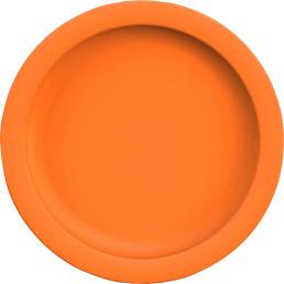 """Teller flach """"PBT"""" ø 24,1 cm orange"""