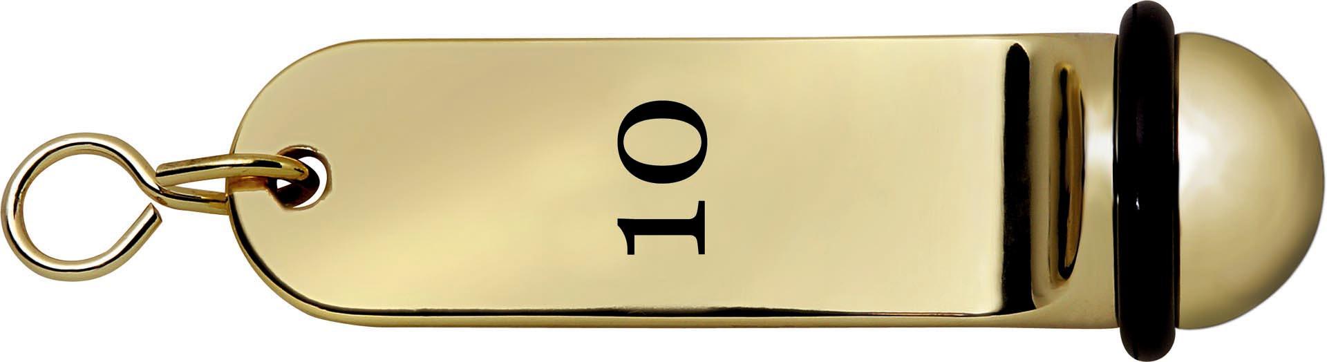 Schlüsselanhänger nummeriert im 10er Set