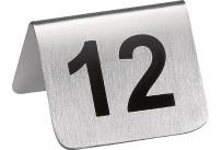 Tischnummern Set 1-12