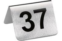 Tischnummern Set 37-48