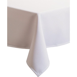 """Tischdecke """"Excaliber"""" 80 x 80 cm weiß"""
