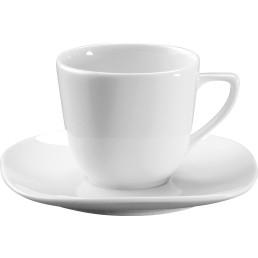 """Kaffee-Untertasse """"Mimosa"""" Hotelporzellan"""
