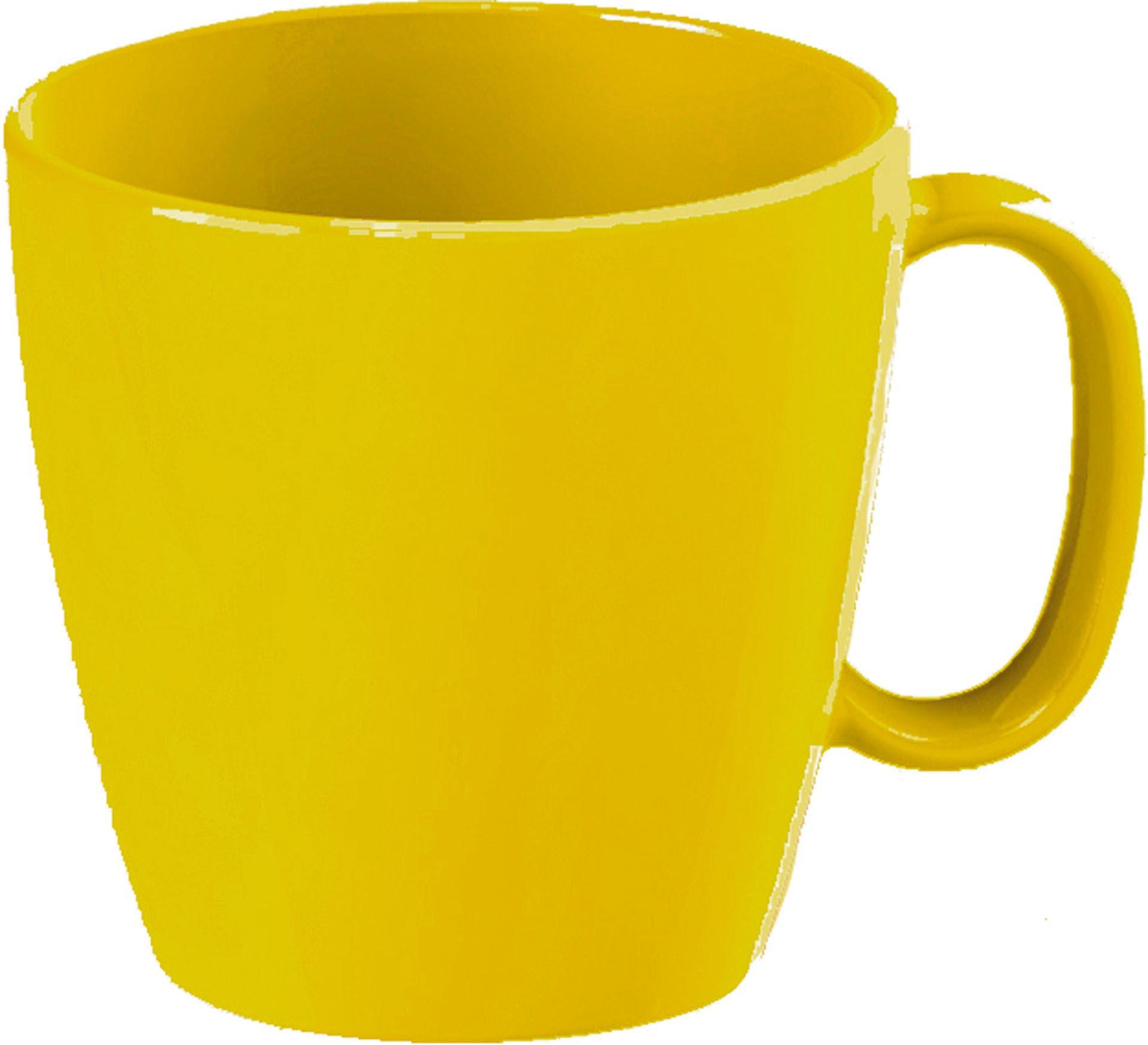 """Tasse """"Colour"""" gelb"""