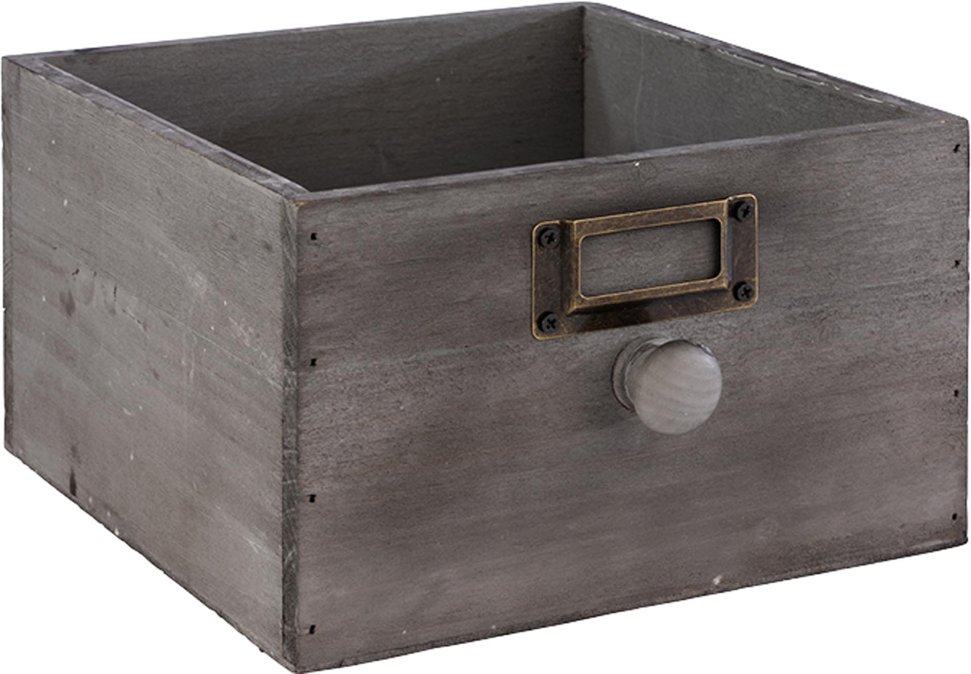 Holzkiste Vintage Grau Vorratsbehalter Lagerung Wirtschaftsartikel Kuchenzubehor Siller Laar 360 Online Mehr Als Nur Ein Shop