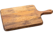 Holzbrett mit Griff 42 x 26 cm