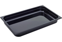 GN Behälter 1/1 Polycarbonat schwarz T: 150 mm 22,5 l
