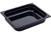 GN Behälter 1/2 Polycarbonat schwarz T: 65 mm 4,7 l