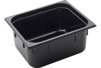 GN Behälter 1/2 Polycarbonat schwarz T: 150 mm 10,8 l