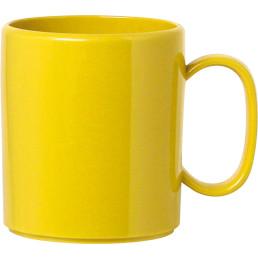 Becher mit Henkel gelb
