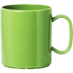 Becher mit Henkel grün