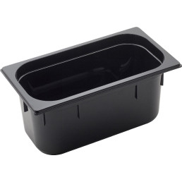 GN Behälter 1/3 Polycarbonat schwarz T: 150 mm 6,8 l
