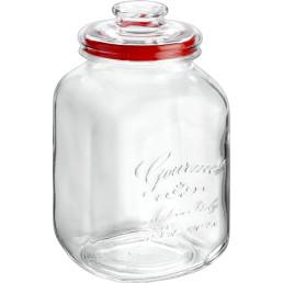 "Vorratsglas ""Country Gourmet"" eckig mit Glasdeckel ø 10 cm 3,1 l"