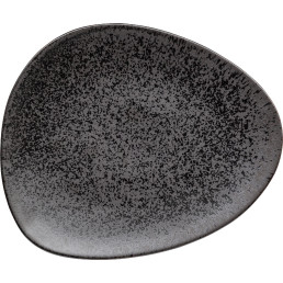 "Teller flach ""Ebony"" 30,6 x26 cm"
