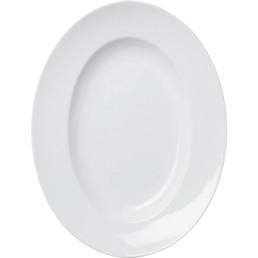 Teller, oval, groß