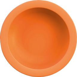 Teller tief orange