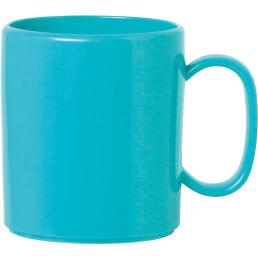 """Becher mit Henkel """"Colour"""" hellblau"""