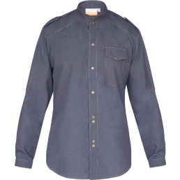 "Kochhemd ""Jeans 1892 California"" vintage black Gr. 46"