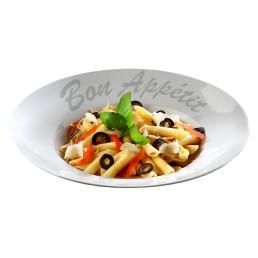 """Pastateller """"Bon Appetit"""" ø 270 cm rund"""