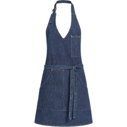 "Latzschürze Denim ""Jeans"" blue denim Damen"