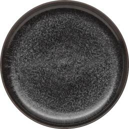 "Porzellanserie ""Ebony"" Teller flach rund Ø26,5cm"
