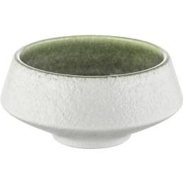 "Porzellan Serie ""Samoa"" grün Schale Ø 10cm"