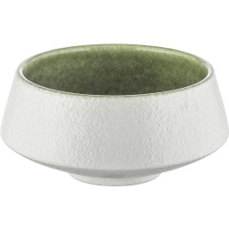 "Porzellan Serie ""Samoa"" grün Schale Ø 13cm"