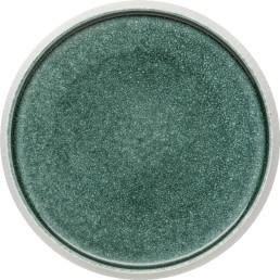"""Porzellan Serie """"Samoa"""" blau Teller flach Ø23cm"""
