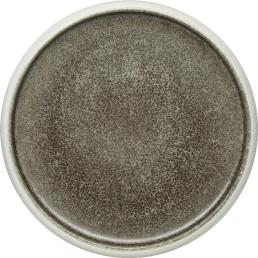 """Porzellan Serie """"Samoa"""" grau Teller flach Ø26cm"""