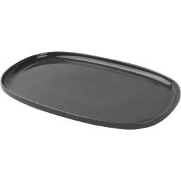 "Porzellanserie ""Skagen"" High Alumina Platte 30,0x20,0 cm, grau"