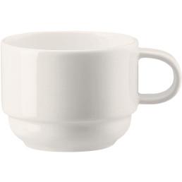 "Porzellanserie Bone China ""NEVE""  Tasse obere Kaffee 0,18L"