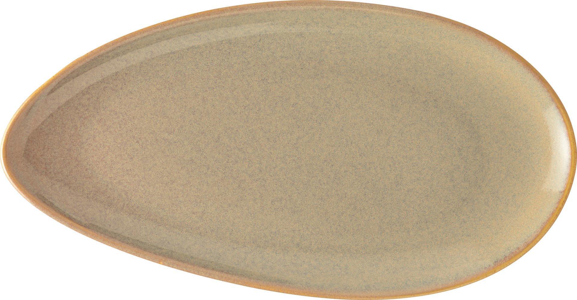 """Vida"" Platte flach oval"