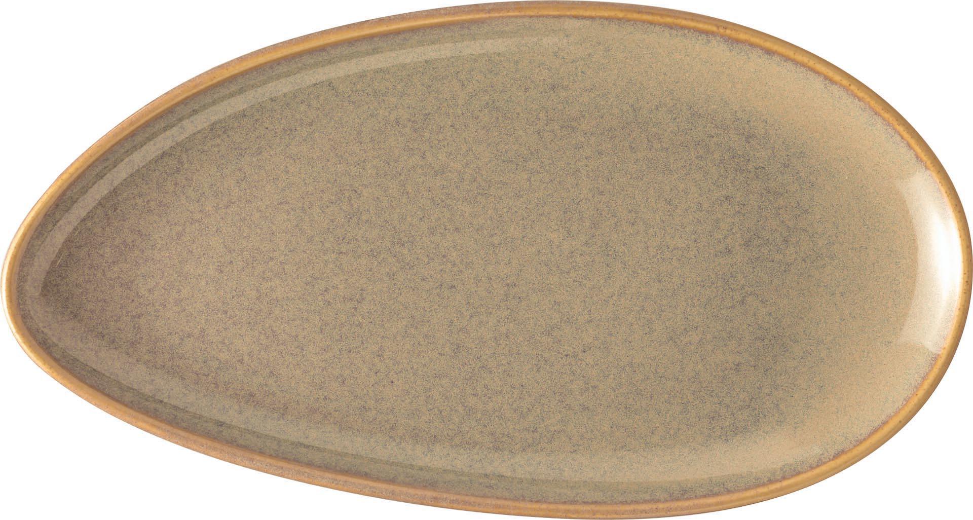"Platte flach oval ""Vida"" 25,5 cm"