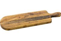 Holzbrett mit Griff 49 x 15 cm