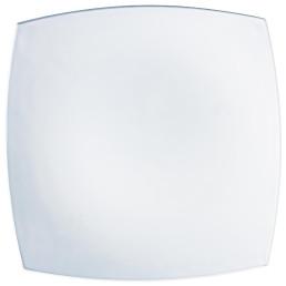 "Teller ""Quadrato"" weiß 19 x 19 cm"