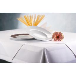 Tischdecke Damast 130 x 280 cm