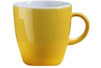 Latte Macchiatotasse gelb