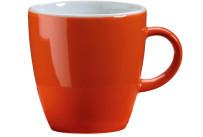 Latte Macchiatotasse orange