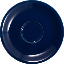 "Espresso-Untertasse ""Barista"" blau"