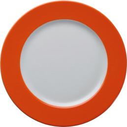 """Teller flach """"Barista"""" ø 26 cm orange"""