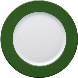 """Teller flach """"Barista"""" 21,5 cm grün"""
