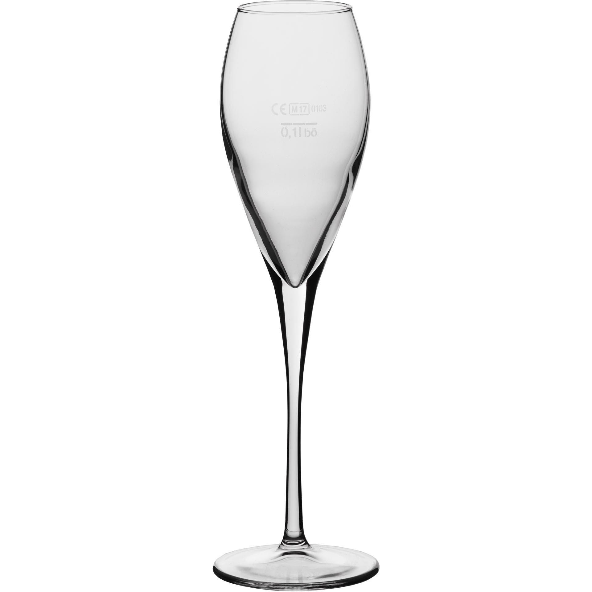 """Sektglas """"Calice"""" 22,5 cl mit Füllstrich"""