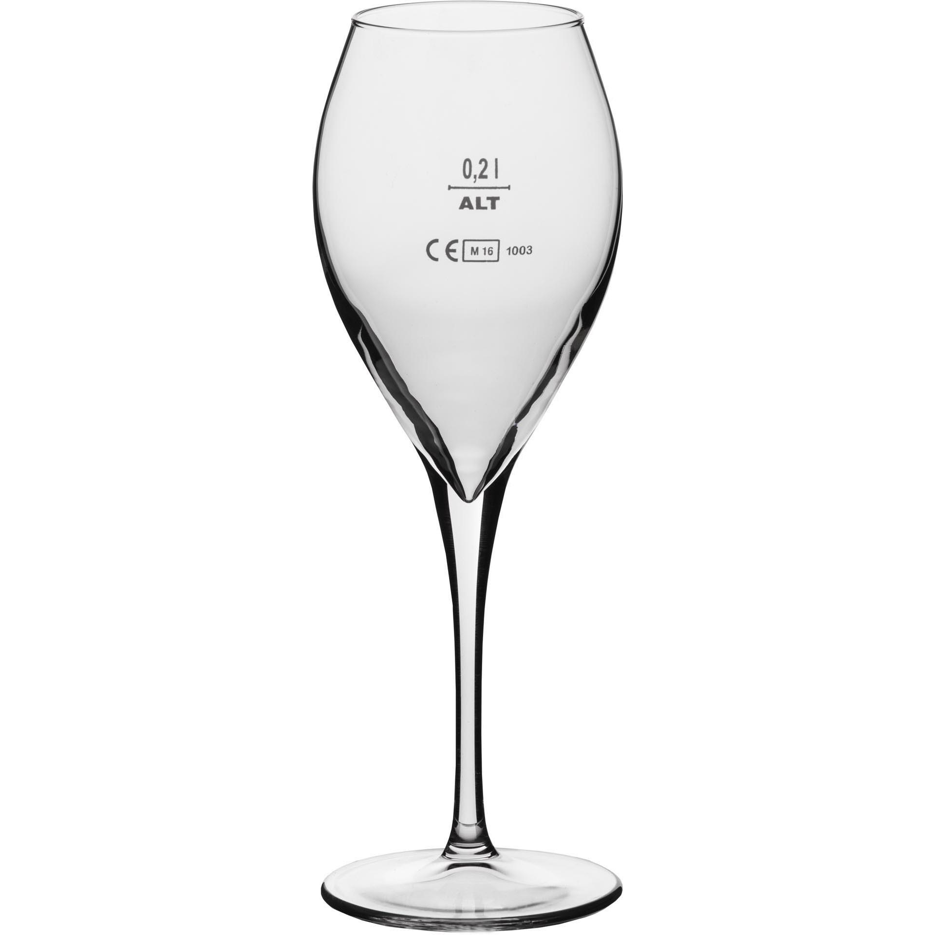 """Weißweinglas """"Calice"""" 32,5 cl mit Füllstrich"""