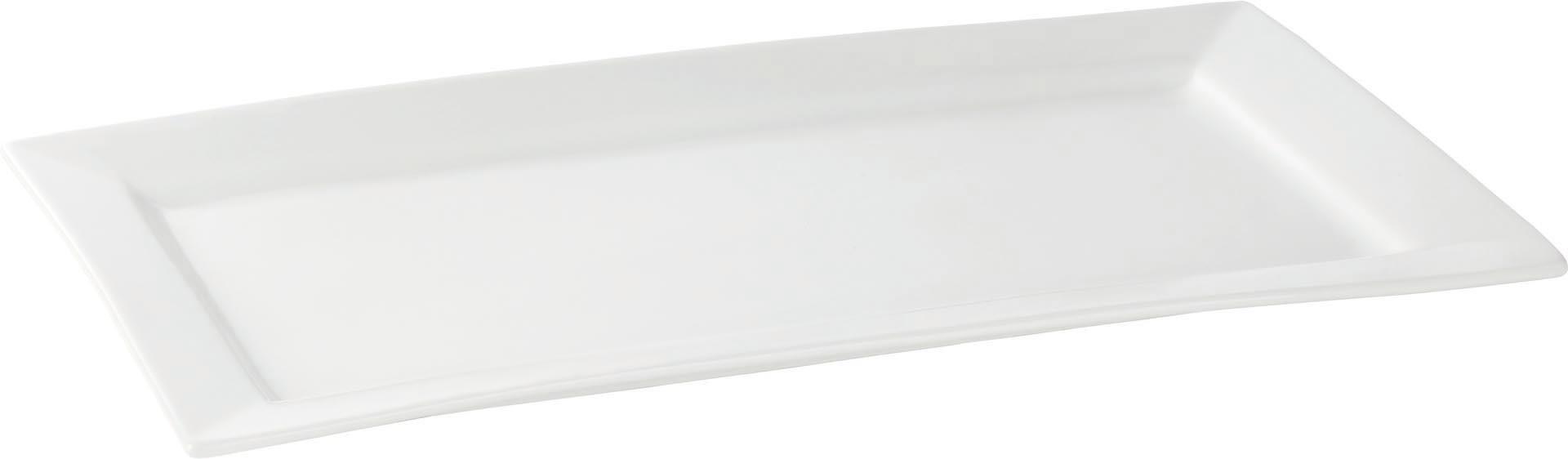 "Platte flach ""Carré"" rechteckig 45 x 27,5 cm"