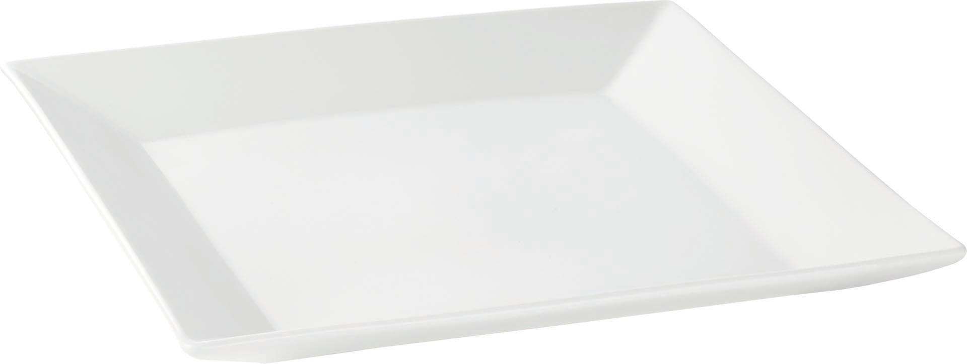 "Platte flach ""Carré"" quadratisch 35 cm"