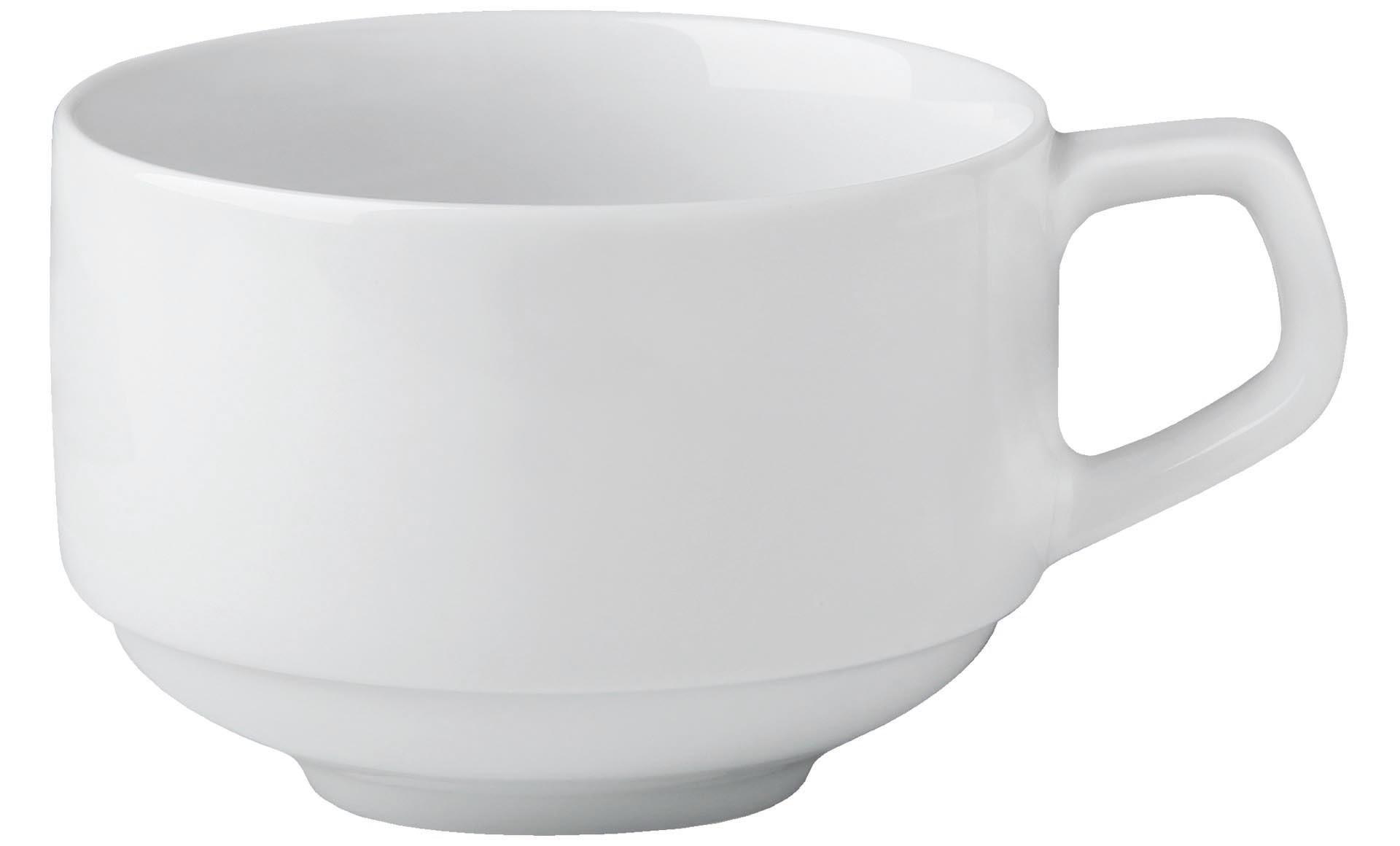 """Kaffeetasse stapelbar """"Rotondo"""" Hotelporzellan"""