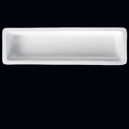 GN-Behälter Porzellan 2/4 65mm tief