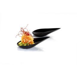 Petit-Schale Tropfenform schwarz