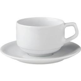 """Kaffee-Untertasse """"Rotondo"""" Hotelporzellan"""